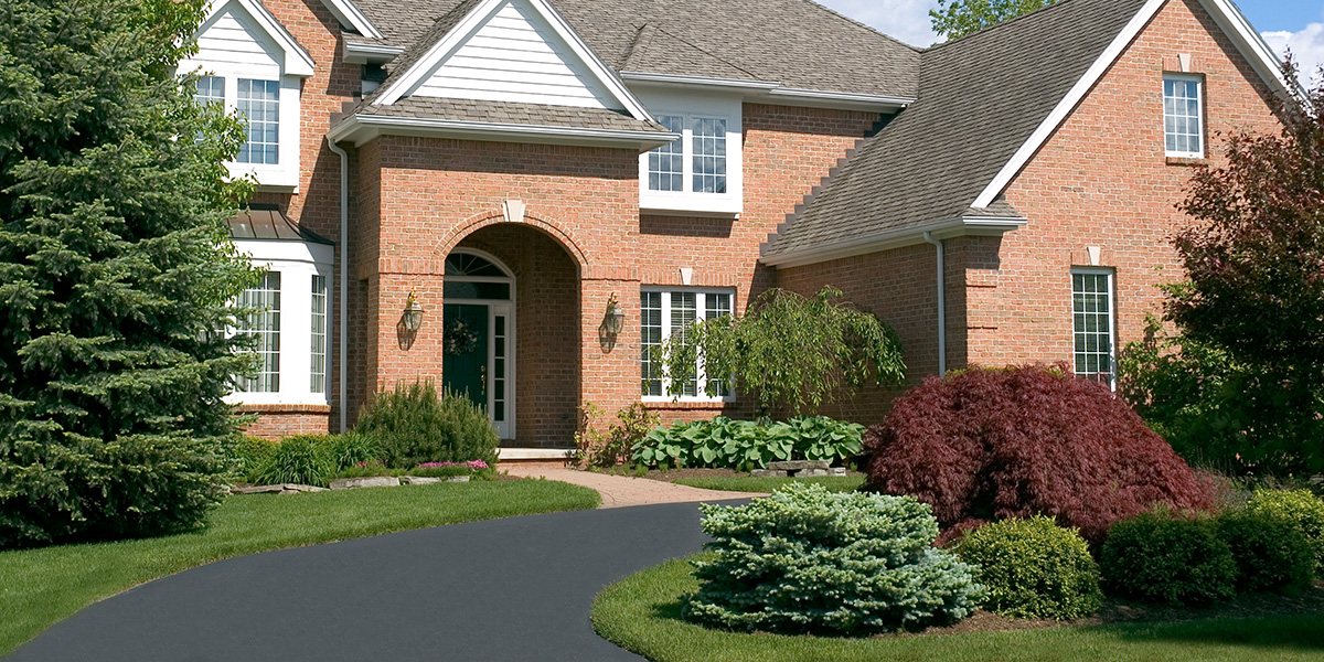 Baughman Magic Seal, residential asphalt, residential asphalt services, asphalt pavement, asphalt striping