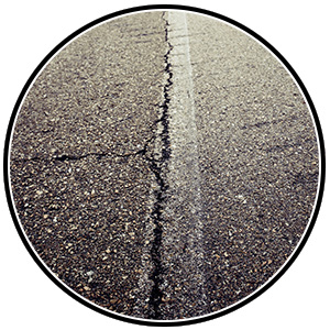 Baughman Magic Seal, asphalt pavement, asphalt crack filling