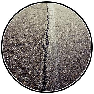 Baughman Magic Seal, asphalt pavement, asphalt crack filling