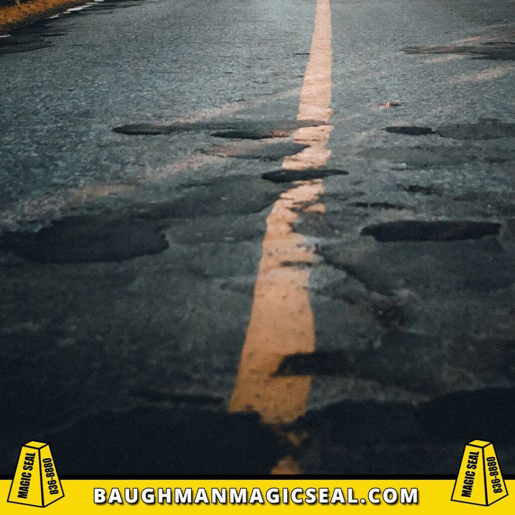Quality asphalt repair services...